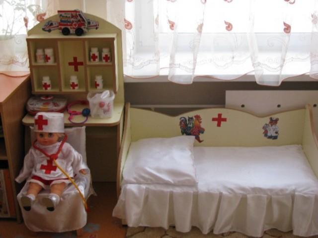 Уголок медицинский в детском саду своими руками фото